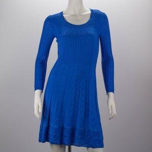 MISSONI Blue Knit Dress